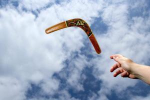 Gescheit scheitern - ist es ein Boomerang in Ihrer Hand?