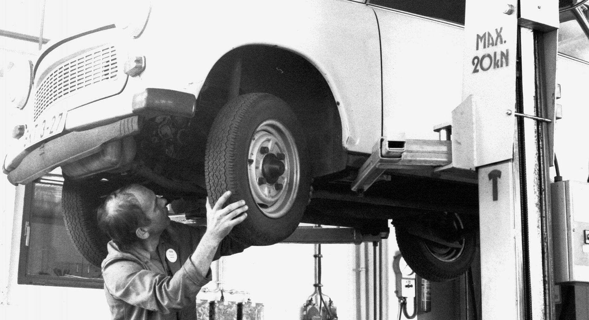 TÜV-Antik letzte Jahrhundert. Kann der TÜV agile?