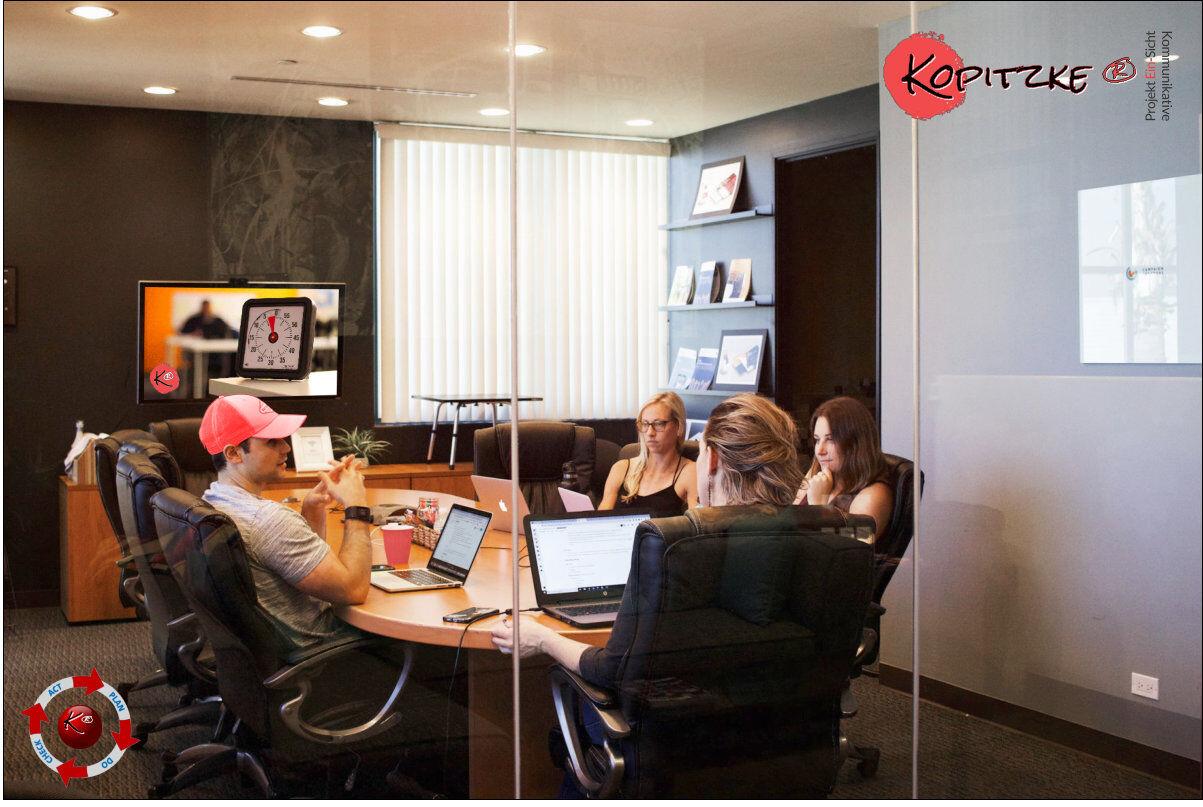 Agiles Coaching konturiert mit Fokus konkret, speziell für Interessierte und Kleingruppen